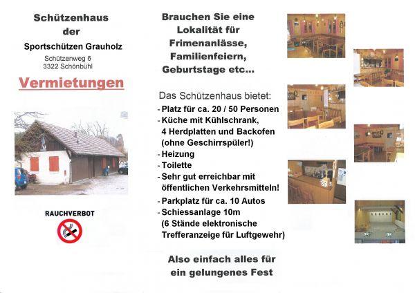 Schützenhaus Sportschützen Grauholz