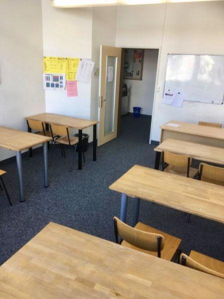 Schulzimmer, Seminarraum und Fitnessraum